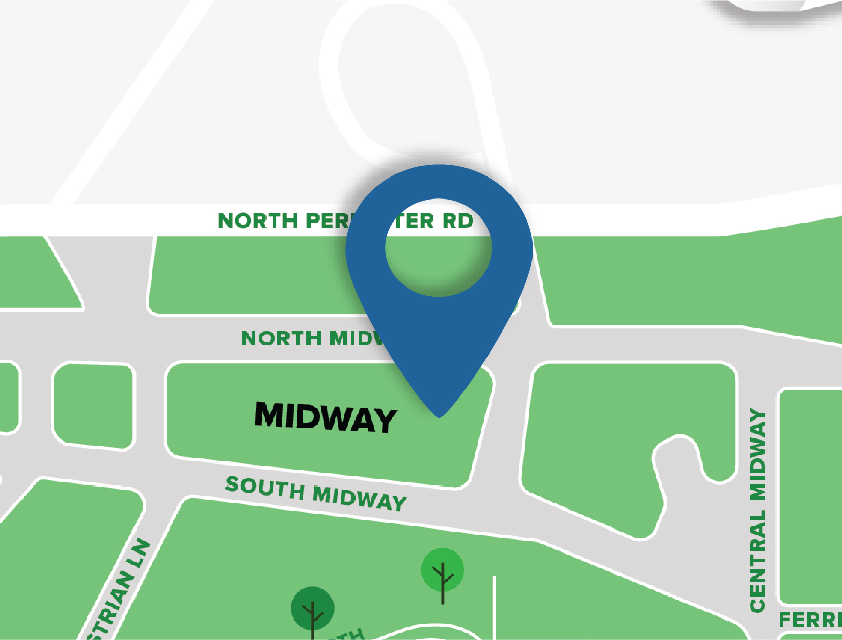 Midway Map Location