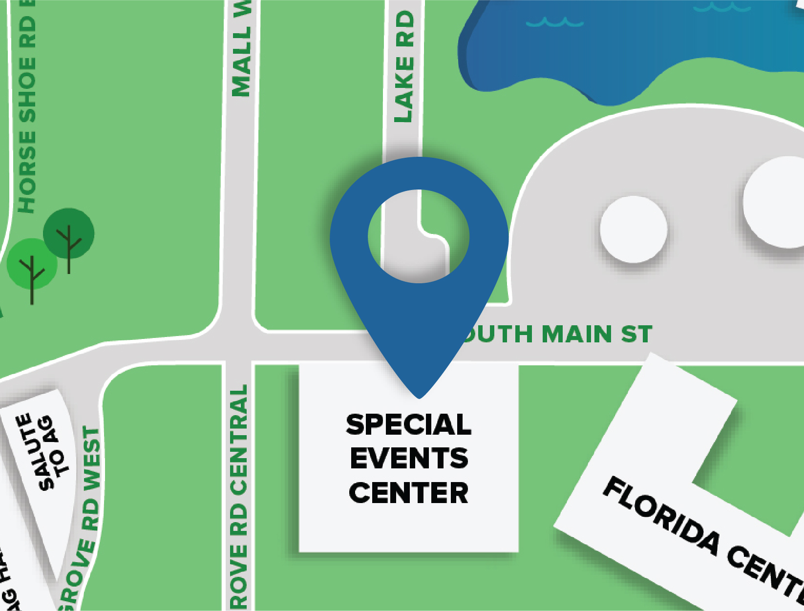 Special Events Center Map Location