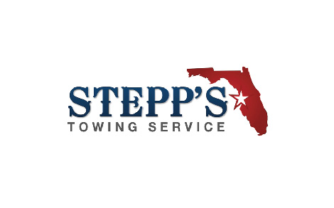 Stepp's towing logo