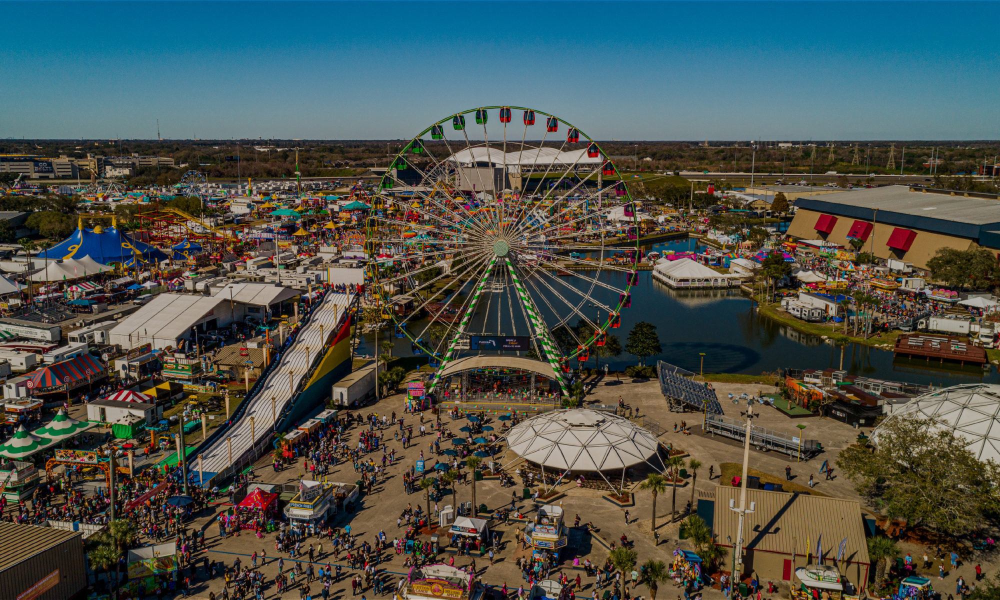 Aerial Photo of Fair