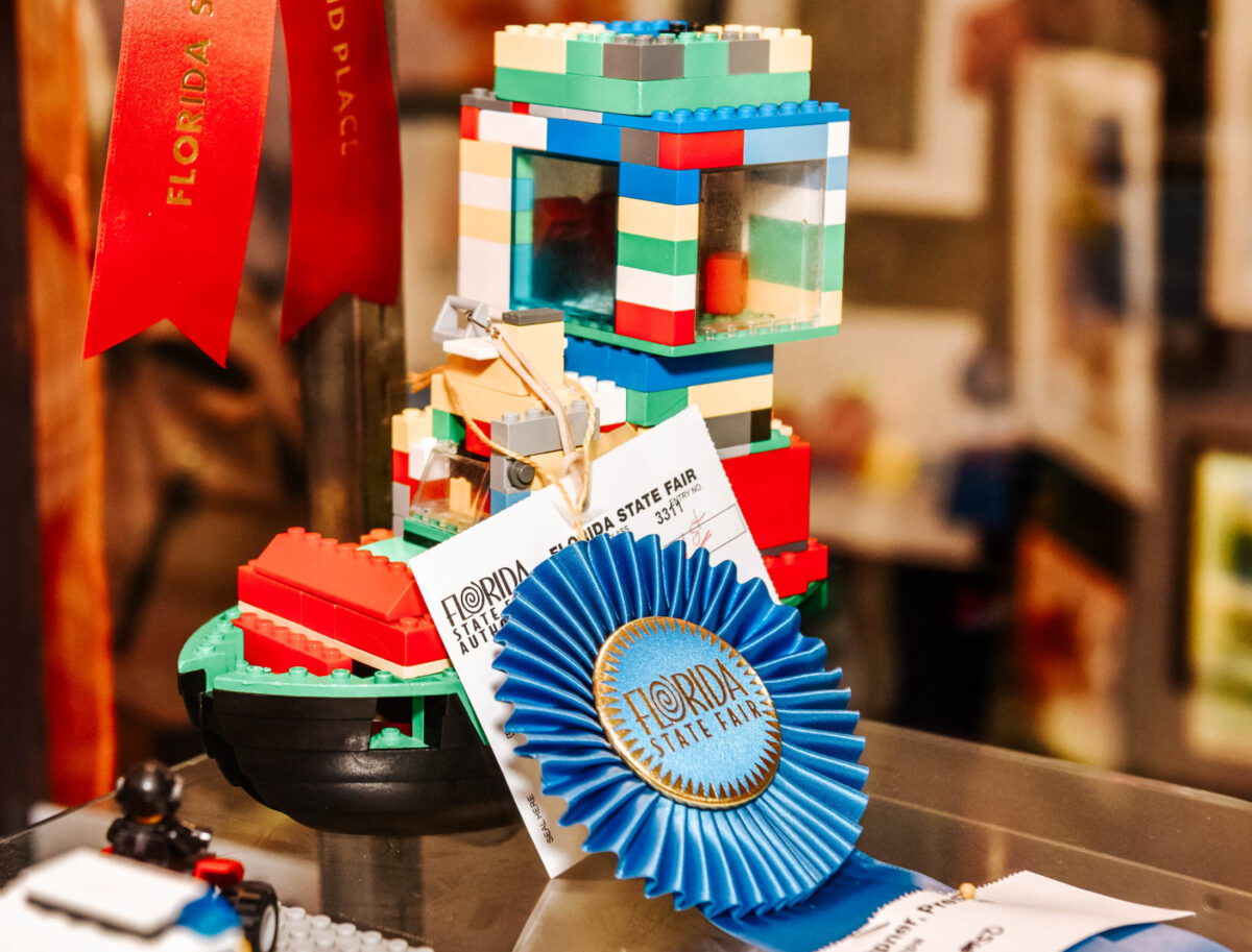 Award Winning Lego Boat Sculpture