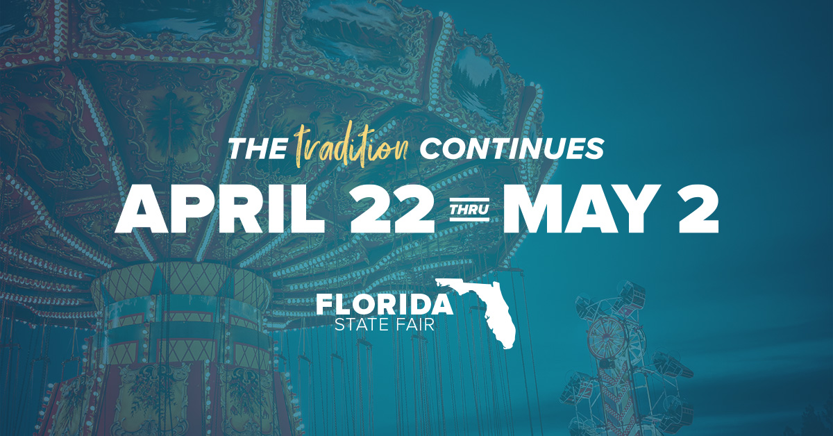 Florida State Fair April 22 - May 2, 2021