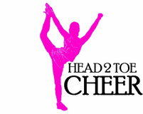 Hear 2 Toe Cheer Logo