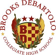 Brooks Debartolo collegiate high school logo